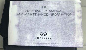 2019 Infiniti Q60 full